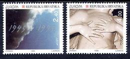 CROATIA 1995 Europa: Peace And Freedom MNH / **.  Michel 319-20 - Kroatien