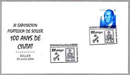 100 AÑOS DE LA CIUDAD DE SOLLER. Soller, Baleares, 2004 - Geschichte