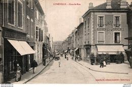 3984-2018    LUNEVILLE  GRANDE RUE - Luneville