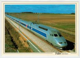FRANCIA   TGV  ATLANTIQUE         TRAIN- ZUG- TREIN- TRENI- GARE- BAHNHOF- STATION- STAZIONI  2 SCAN (NUOVA) - Treni