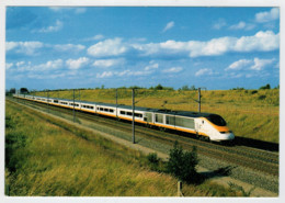 FRANCIA   TRANSMANCHE EUROSTAR         TRAIN- ZUG- TREIN- TRENI- GARE- BAHNHOF- STATION- STAZIONI  2 SCAN (NUOVA) - Treni