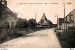 4685-2018   FARGES EN SEPTAINE  ROUTE DE VILLABON - Francia