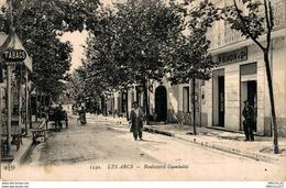 4883-2018      LE S ARCS  BOULEVARD  GAMBETTA - Les Arcs