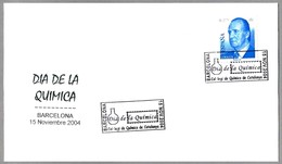 DIA DE LA QUIMICA - CHEMISTRY DAY. Barcelona 2004 - Química