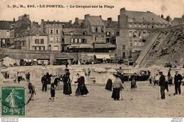 5437 -2018       LE PORTEL     LE CROQUET SUR LA PLAGE - Le Portel
