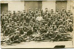 CARTE PHOTO (7) D'un GROUPE De MILITAIRES - - Personnages