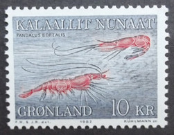 Grönland Freimarken:Meeresfauna   1982  ** - Ungebraucht