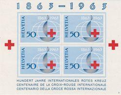Switzerland 1963 Red Cross M/s ** Mnh (44345) - Blokken