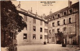 CPA Hotel De Paris - BESANCON - Facade Sur Cour (299929) - Besancon