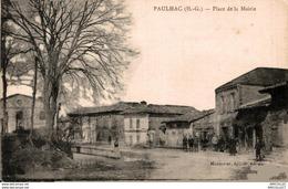 5808-2018     PAULHAC   PLACE DE LA MAIRIE - Francia