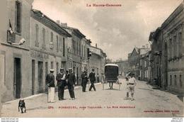 5837-2018     PINSAGUEL  LA RUE PRINCIPALE - Francia