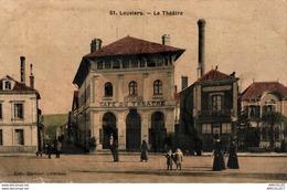 5906-2018  LOUVIERS  LE THEATRE - Louviers