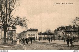 6287  -2018  JARNAC PLACE DU CHATEAU - Jarnac