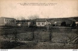 6344  -2018      LA COURONNE  LE PENETENCIER  VUE GENERALE DU CANTONNEMENTDU 8e REGIMENT - Autres Communes