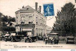 6348  -2018      PACY SUR EURE  RESTAURANT DE LA MERE CORBEAU - Andere Gemeenten