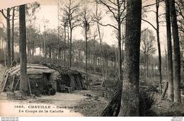 7282  -2018       CHAVILLE  DANS  LES BOIS  LA COUPE DE LA CALOTTE - Chaville