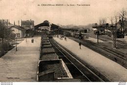 7505  -2018        CHALONS SUR MARNE   LA GARE - Châtillon-sur-Marne