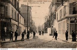 7669  -2018   IVRY SUR SEINE    PETIT IVRY  RUE BARBES - Francia