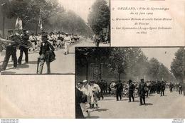 7720  -2018    ORLEANS   FETE DE GYMNASTIQUE DU 19 JUIN 1904 - Orleans