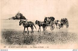 7770  -2018     MONT ST MICHEL       LES VOITURES DE GENETS - Le Mont Saint Michel