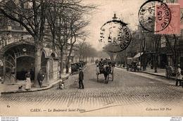 7832  -2018   CAEN  LE BOULEVARD ST PIERRE - Caen