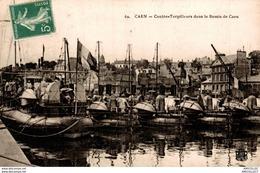 7833  -2018   CAEN   CONTRE TORPILLEURS DANS LE BASSIN DE CAEN - Caen