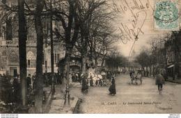 7834  -2018   CAEN    LE BOULEVARD ST PIERRE - Caen