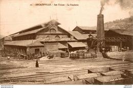 8185- 2018   DECAZEVILLE    LES USINES   LA FONDERIE - Decazeville