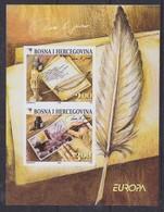 Europa Cept 2008 Bosnia/Herzegovina Sarajevo M/s IMPERFORATED ** Mnh (44350) - 2008