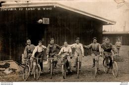 8414- 2018    ALLEMAGNE CAMP DE WAHM  LOT DE 2 CARTES-PHOTOS CAMP DE PRISONNIERS1914-1918 - Other