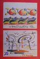 6 Dessins Originaux De Felip Vila 1962 Peintre Catalan De Ceret Vallespir 66 Qui Connu Salavador Dali Papier Fin 21x26 C - Prints & Engravings