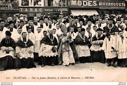 9023-2018     BEAUVAIS   FETE DE JEANNE HACHETTE   LE DIOCESE DE BEAUVAIS - Beauvais
