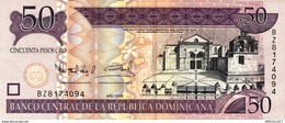 7317-2019    BILLET ETRANGER DE  REPUBLIQUE DOMINICAINE - República Dominicana