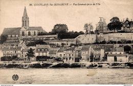 8550  -2019     CONFLANS ST HONORINE   VUE GENERALE PRISE DE L ILE - Conflans Saint Honorine