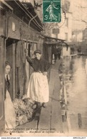 6567-2019    PARIS  INNONDATIONS JANVIER 1910 RUE ST CHARLES - Inondations De 1910