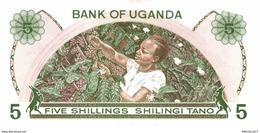6657-2019    BILLET DE BANQUE   OUGANDA - Uganda