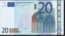 € 20  ITALIA S  J003  DUISENBERG  UNC - EURO