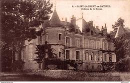 1972-2019   ST LAURENT EN GATINES - Francia