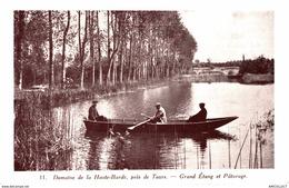 1985-2019     DOMAINE DE LA HAUTE BARDE  GRAND ETANG ET PATURAGE - Francia