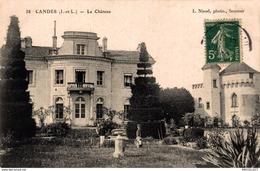1986-2019     CANDES  LE CHATEAU - Altri Comuni