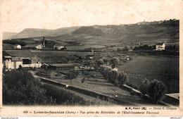 2205-2019     LONS LE SAUNIER   VUE PRISE DU BELVEDERE DE L ETABLISSEMENT THERMAL - Lons Le Saunier