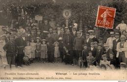 5357 -2019    VILLERUPT   LES POTEAUX FRONTIERES - Francia