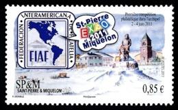 ST-PIERRE ET MIQUELON 2011 - Yv. 1007 **   Cote= 3,40 EUR - Expo Phil. 'SPM Expo 2011'  ..Réf.SPM11615 - St.Pierre & Miquelon