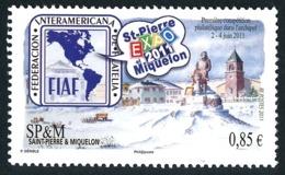 ST-PIERRE ET MIQUELON 2011 - Yv. 1007 **   Faciale= 0,85 EUR - Expo Phil. 'SPM Expo 2011'  ..Réf.SPM11616 - St.Pierre & Miquelon