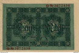 6243 -2019     BILLET BANQUE  USAGES  ALLEMAGNE - Germany