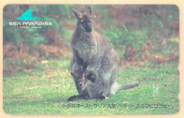 JAPAN Telefonkarte -221-2012 - Känguru  - Siehe Scan - Sonstige