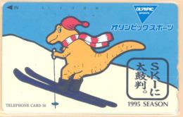 JAPAN Telefonkarte -290-40606  - Känguru  - Siehe Scan - Sonstige