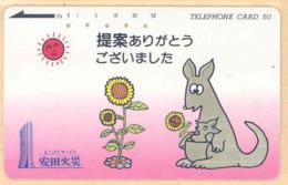 JAPAN Telefonkarte -110-44318 - Känguru  - Siehe Scan - Sonstige