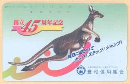 JAPAN Telefonkarte -330-59166 - Känguru  - Siehe Scan - Sonstige
