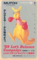 JAPAN Telefonkarte -110-69674 - Känguru  - Siehe Scan - Sonstige